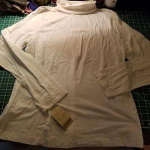 Sonoma Tops - Sonoma Turtleneck White Long Sleeve XL